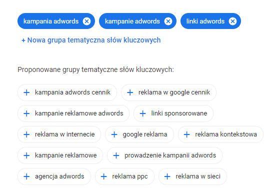 reklama google ads- krok6